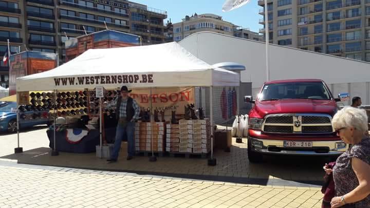 Ready for the country festival of Middelkerke