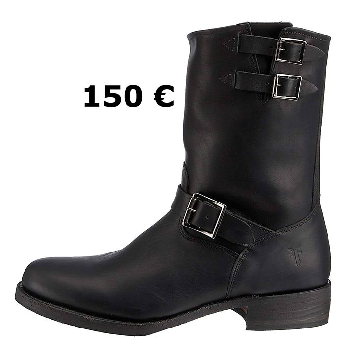 CLOSEOUTS  FRYE BRANDO ENGINEER  MADE IN THE USA  SIZES LEFT 10 ( 43 ) AND 11 ( 44 )  PRICE WAS 295 €