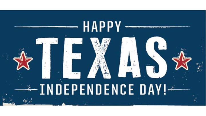 On March 2, 1836, Texas declared its independance from Mexico. Today, we celebrate Texas Independance Day