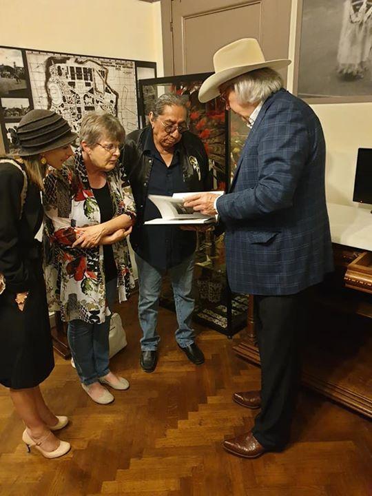 Ernie Lapointe. Gifts. Lakota Performers in Europe