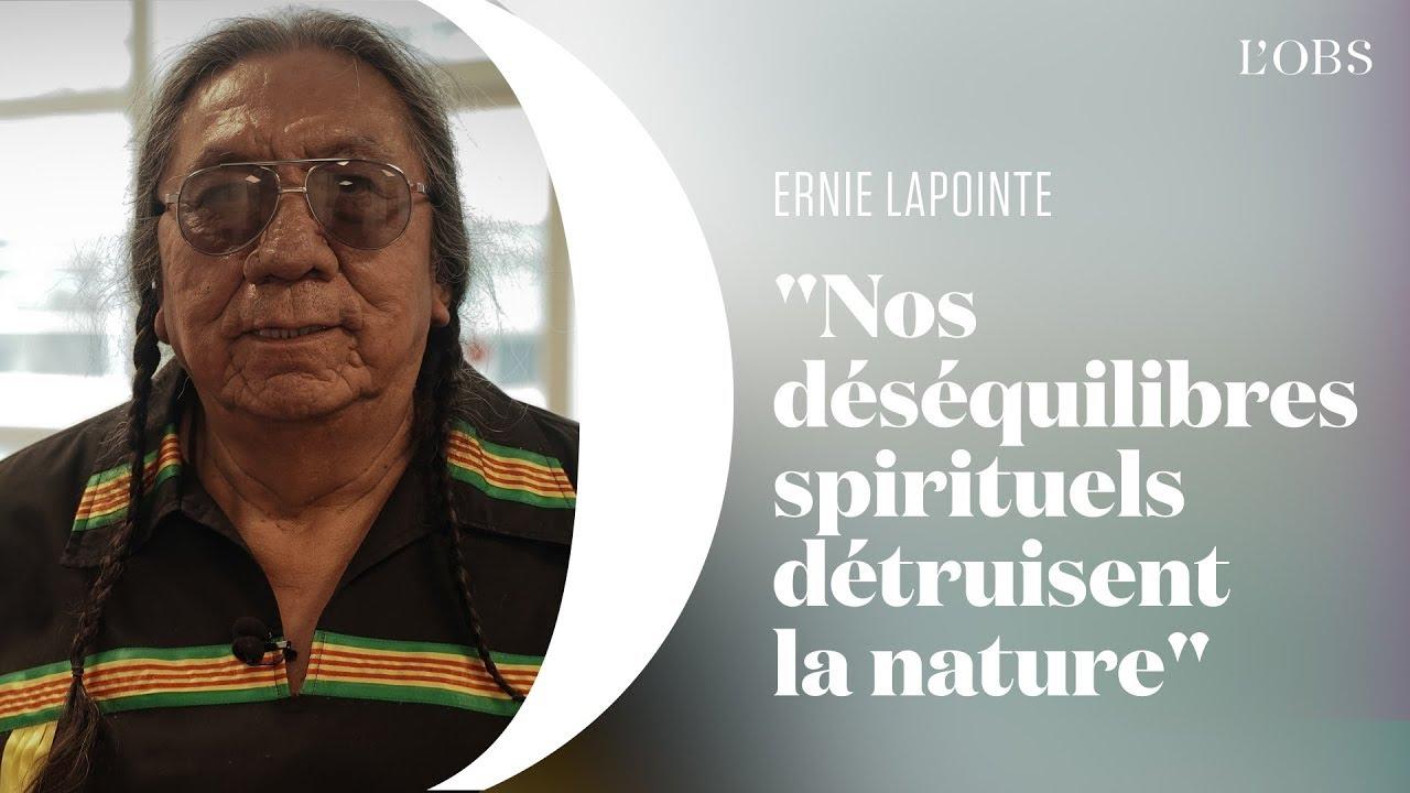 Argent, travail, réussite... Oubliez tout ça et écoutez la leçon de spiritualité d'Ernie LaPointe. Alors que la crise écologique menace, l'arrière-petit-fils...