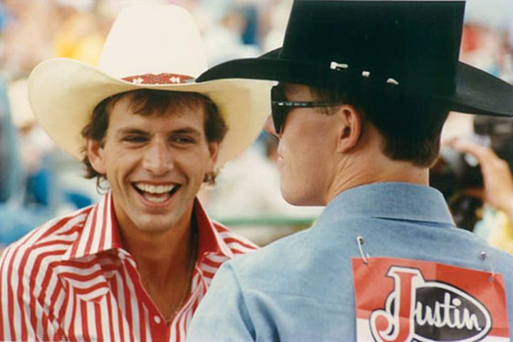 Tribute to Lane Frost who died 30 years ago in Cheyenne. Respect.